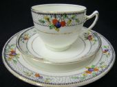 Gladstone China - Proctor -berries tea trio